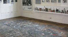 Art Studio of Jackson Pollock Famous Artist's Studios - News - Artists & Illustrators -
