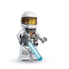LEGO Spaceman Minifigure 8683 Series 1 New Sealed Retired Minifig Legos, Lego Spaceman, Lego Astronaut, Lego People, Lego Minifigs, Lego Ninjago, Lego Worlds, Lego News, Lego Marvel