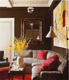 Philip Gorrivan; Elle Decor, December 2009