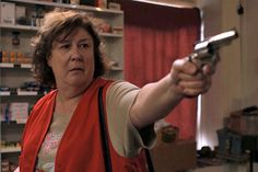 "Margo Martindale's unforgettable portrayal of Justified's Season 2 ""Big Bad"" Mags Bennett"
