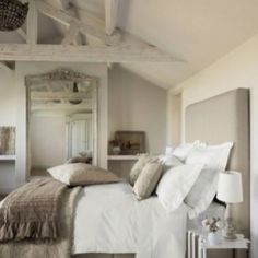 I'd love this for a guest room, or a cabin by a lake!