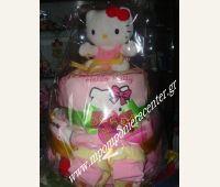 Τούρτα για νεογέννητο κοριτσάκι Lunch Box, Bento Box