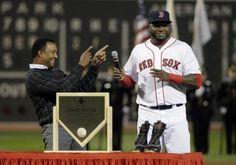 Medias Rojas de Boston honran a David Ortiz