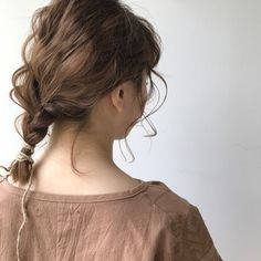 Braid Styles - 25 braid ideas for short hair women - Hairstyles for women Cut My Hair, Her Hair, Hair Cuts, Short Hairstyles For Women, Cute Hairstyles, Hair Inspo, Hair Inspiration, Hair Arrange, Grunge Hair