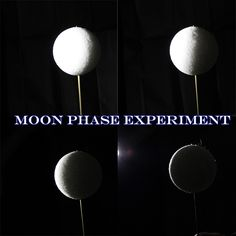 99 Creative Moon Projects - Moon Phases Experiment