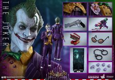 DC Comics The Joker Sixth Scale Figure by Hot Toys | Sideshow Collectibles