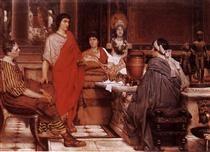 Catullus at Lesbia's - Sir Lawrence Alma-Tadema
