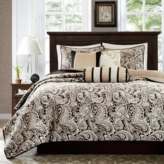 Madison Park Wellington 12-piece Bed in a Bag with Sheet Set | Overstock.com Shopping - The Best Deals on Comforter Sets