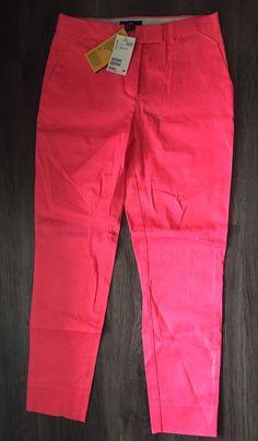 NWT Women's Hot Pink H&M Pants Size 4  | eBay