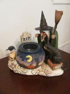 jim shore witch on ebay