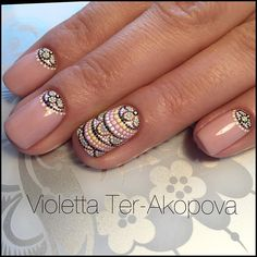 #nailart #dots