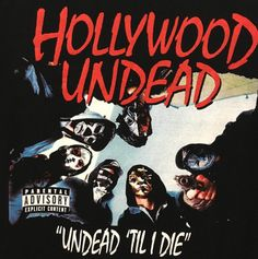 Hollywood Undead Screen printed Tshirt