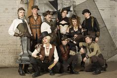 Great Steam Punk outfits- steamy...