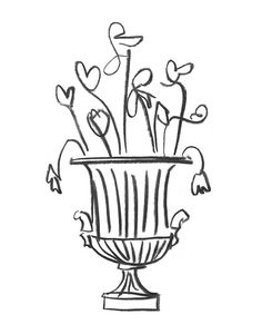 Spring Flowers in a Classical Urn   www.lab333.com  www.facebook.com/pages/LAB-STYLE/585086788169863  www.lab333style.com  lablikes.tumblr.com  www.pinterest.com/labstyle