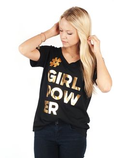 #GirlPower Graphic Tee $21.00 + FREE SHIPPING