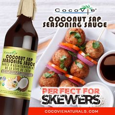 CocoVie Coconut Sap - PERFECT FOR SKEWERS