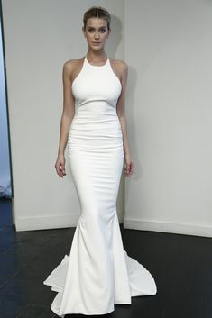 Love love lovvvvee this dress. Dye it any other color and its a prefect after 5 number - Nicole Miller Bridal Fall 2015
