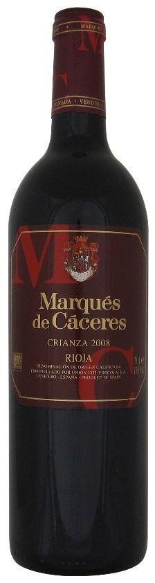 Marques de Caceres Crianza Tinto, Rioja 2008