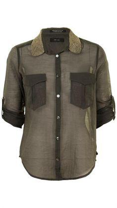 Maison Scotch - Fancy Shirt Metal Beaded