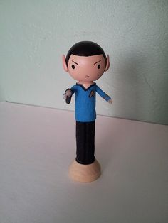 Spock MADE TO ORDER by LittleBun on Etsy, $25.00