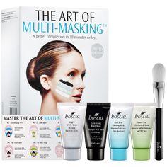 The Art Of Multi-Masking™ Kit - boscia | Sephora #boscia #multimasking  I am obsessed with face masks & skin care these days