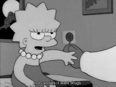 drugs the simpsons acid lisa trippy gif trippy shit trip trip trippy trippyy lsd-kitty The Simpsons Movie, Simpsons Quotes, Simpsons Cartoon, Cartoon Quotes, Sad Wallpaper, Wallpaper Iphone Cute, Lisa Simpson, Triste Gif, Love Drug