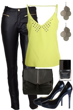 Stay bright and sparkling in this bold outfit! A statement coloured top paired with skin licking pants and smoky nails. Reflect the shine with your silver embellishment and accessories. Love, Hannah and the Birdsnest girls xox