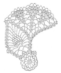 大きなパイナップルドイリー : Crochet a little