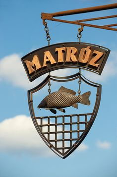 Matroz street Sign - ( Gy?r )  Gyor Hungary