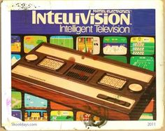 Intellivision Video Game Console, Dad bought me this for Christmas Vintage Video Games, Retro Video Games, Vintage Games, Vintage Toys, 1970s Childhood, Childhood Memories, Childhood Toys, Consoles, School Games