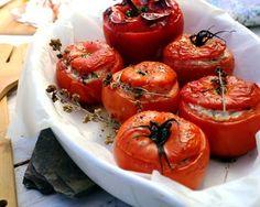 Tomates farcies au chèvre faciles minutes