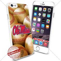 New iPhone 6 Case Ole Miss Rebels Logo NCAA #1322 White Smartphone Case Cover Collector TPU Rubber [BaseBall] SURIYAN http://www.amazon.com/dp/B015045IEI/ref=cm_sw_r_pi_dp_YwJxwb0P9JER9