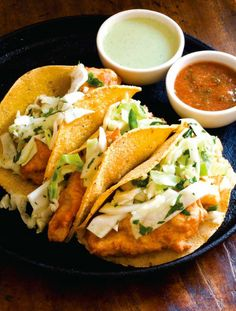 Easy Beer-Battered Catfish Tacos