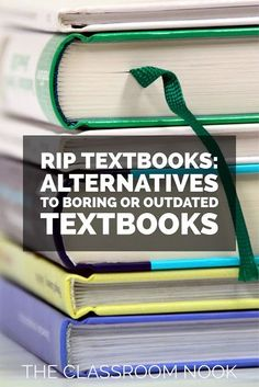 RIP Textbooks - Alternatives to Boring or Outdated Textbooks - The Classroom Nook Social Studies Textbook, Science Textbook, 4th Grade Activities, Fourth Grade Science, Engage In Learning, Learning Tools, Elementary Teacher, Upper Elementary, English Textbook