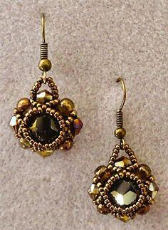 Linda's Crafty Inspirations: Pearl Earrings