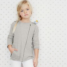 Buy Girls > Girls Clothing > Knitted Biker Jacket from The White Company  I will be buying this for my granddaughter