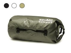 SHAD ZULUPACK® WATERPROOF DUFFLE BAG 38L Rain is a real pain when touring on a bike the water does its best to penetrate everywhere. The last thing you want is all the gear in your 'waterproof' bag getting soaked.   The Shad Zulupack® Waterproof 38L Duffle Bag is warrantied 100% waterproof.