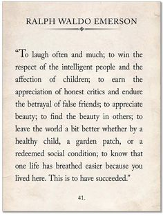 Ralph Waldo Emerson Vintage Book Page Literary Quote Print. Fine Art Paper, Laminated, or Framed. Multiple Sizes for Home, Office, or School - Echo-Lit Quotable Quotes, Wisdom Quotes, Words Quotes, Quotes To Live By, Me Quotes, Sayings, People Quotes, Lyric Quotes, Qoutes