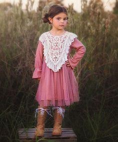 Rose Amelia Dress - Toddler & Girls