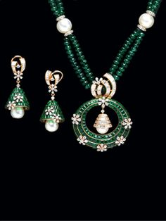 Image result for diamond pendant sets indian jewelry