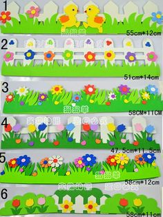 Wall material supplies eva fence flower wall stickers wall decoration foam railing for kindergarden inwall stickers from home garden on aliexpress com alibaba group Foam Crafts, Preschool Crafts, Easter Crafts, Diy And Crafts, Crafts For Kids, Board Decoration, Class Decoration, School Decorations, Diy Wall Stickers