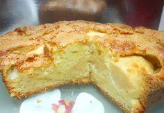gâteau moelleux aux pommes vanillé