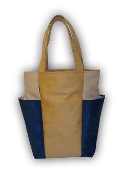 BIG POCKETS new bag - 3 colours beige dark blue light grey http://www.totostyle.pl/