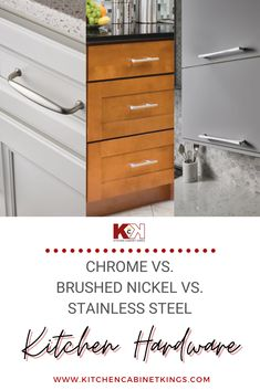 If you own your home, you can really do whatever you want. In terms of cabinet hardware, you can mix different metals as long as you have a plan of how they go together. Read more from our latest post!