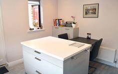 German Kitchen, Corner Desk, Kitchen Design, Furniture, Home Decor, Corner Table, Cuisine Design, Decoration Home, Room Decor