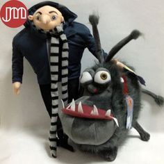 Find More Movies & TV Information about New 2 PCS Minions Kyle with Villain Gru Papa Despicable Me 2 Cartoon Toys Anime Soft Stuffed Plush Doll Russian Brinquedos,High Quality toys chicco,China toy machine guns for sale Suppliers, Cheap toy doll stroller from M&J Toys Global Trading Co.,Ltd on Aliexpress.com