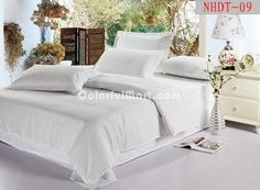 Cheap linen dresses for wedding, Buy Quality linen handkerchief directly from China set packaging Suppliers: best selling classic cotton satin stripe plain white hotel bedding set duvet cover set bed linen bed sheet set Hotel Bed Sheets, Linen Bed Sheets, Bed Linen, Bed Sets, Bed Sheet Sets, Duvet Bedding Sets, Linen Bedding, Cheap Linens, Pottery Barn Teen Bedding