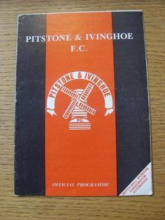 08/05/1990 South Midlands League Premier Cup Final: Pitstone & Ivinghoe v Electr | eBay