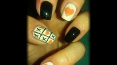 Tic-Tac-Toe Valentine Nails(Nailed It)