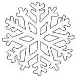 Snowflake Pattern Shape -many varieties